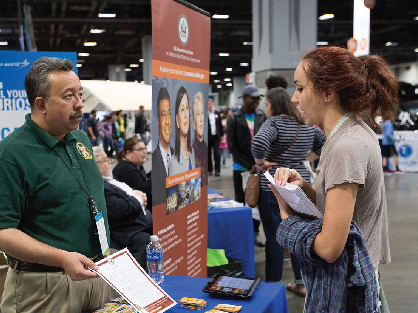 Photo: USA Science Festival STEM Career Fair