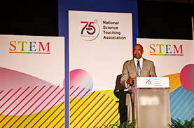 Texas Teacher Represents NMSI At National Science Conference image