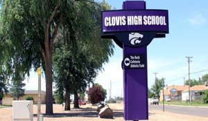 Clovis High School is urging students to take AP classes image