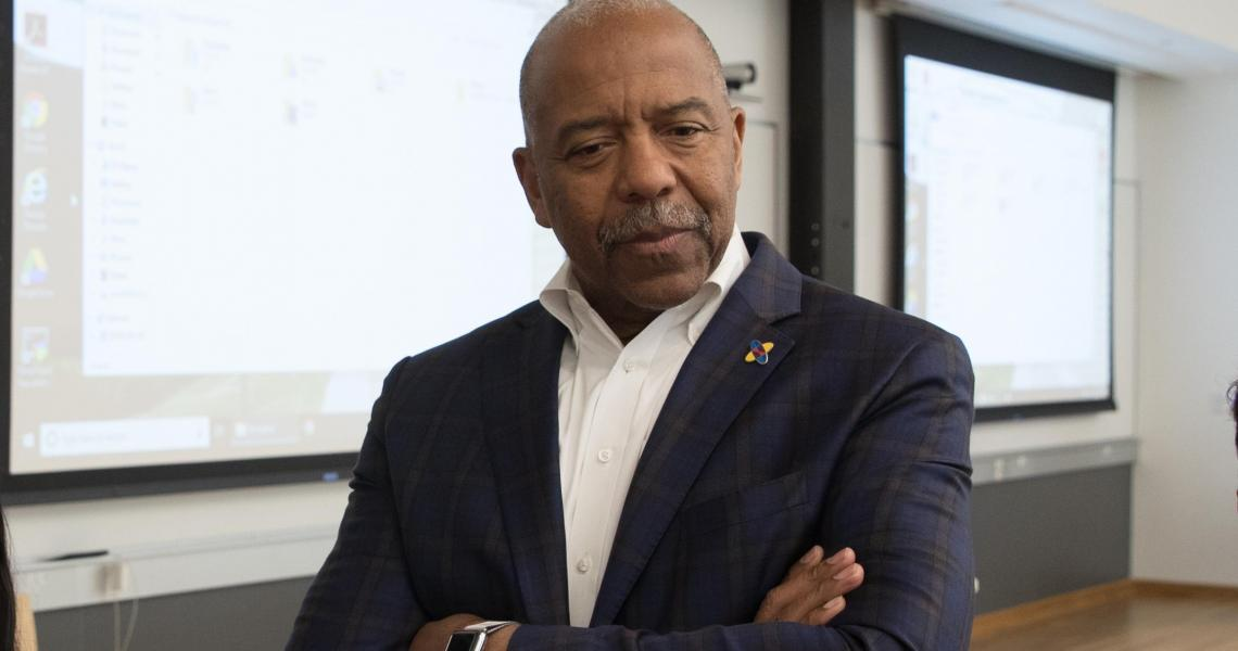 Former NASA Astronaut Bernard Harris Joins NJIT Forum on Post-COVID STEM Learning  image