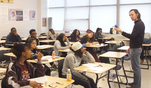 Detroit High Schools Students Sitting For AP Exams image