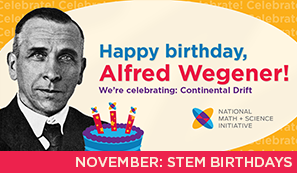 A Month of STEM Birthdays: Alfred Wegener image