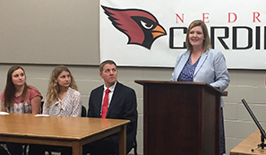 Baesler Announces New Student Opportunities In Math, Science Program Expands Availability of Advanced Placement Courses Strengthens College Preparation, Saves Tuition Costs image