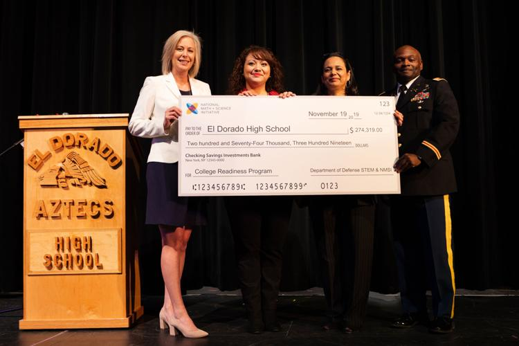 U.S. Department of Defense awards grant to El Dorado for STEM advancement  image