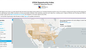 New Online Map Increases Understanding of Country's STEM Education Delivery and Outcomes image